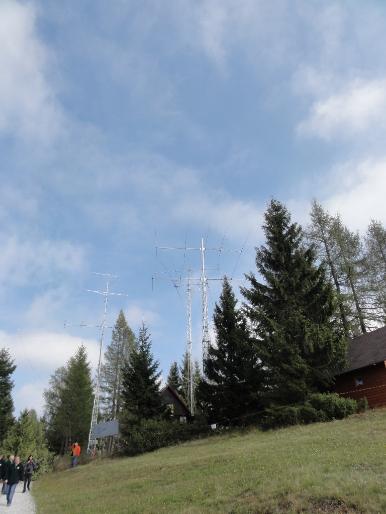 Radioklub Cerkno, S50E -Črni vrh nad Cerknim 1291 m ASL