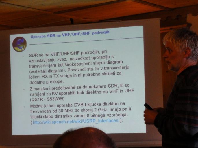 Sine, S53RM Prednosti SDR tehnologije na KV in UKV