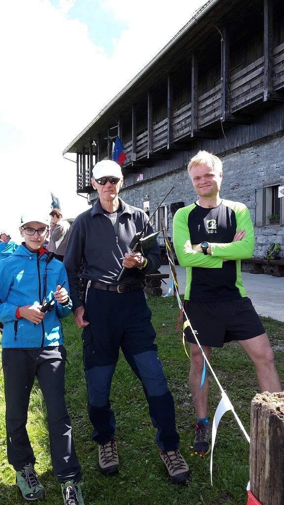 Tine, Janez in tabornik Andraž