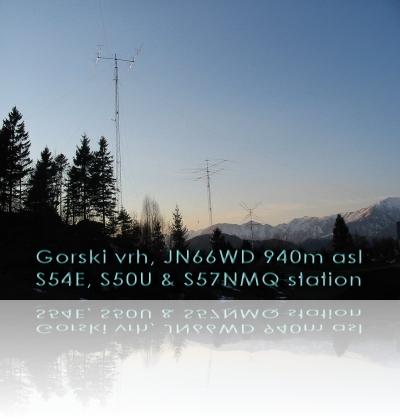 Postojanka Gorski Vrh, JN66WD 940 m ASL