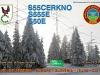 Radio club Cerkno Special event callsign QSL card