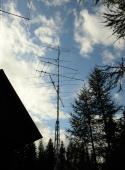 Mali stolp, Črni Vrh S50E station, JN76AD