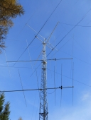 2 element wire beam 3.8 MHz