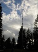 Visoki stolp, Črni Vrh S50E station, JN76AD