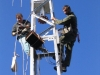 Danilo, S50U & Tone, S54E montaža antenskega rotatorja