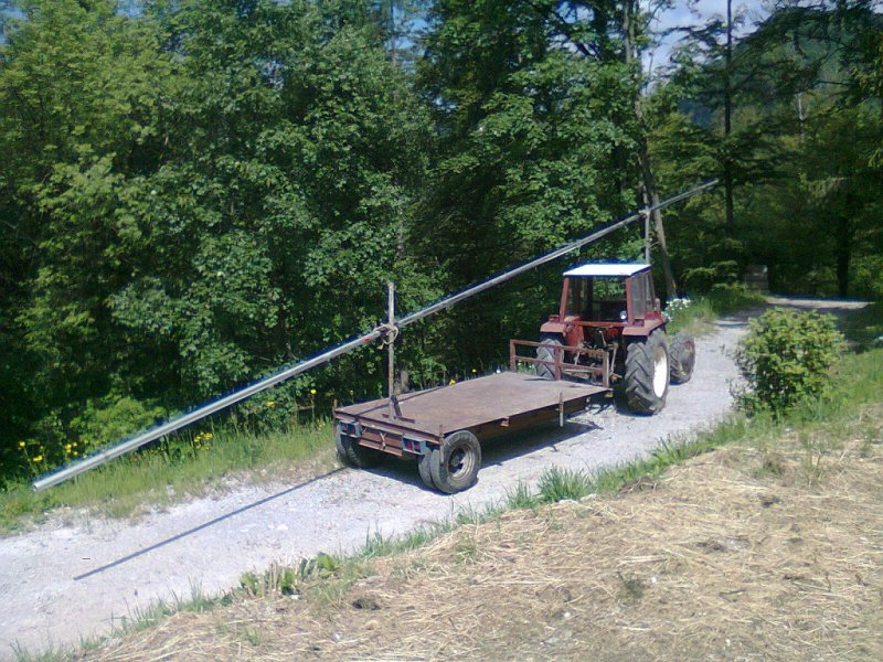 15m long boom unique tractor transportation