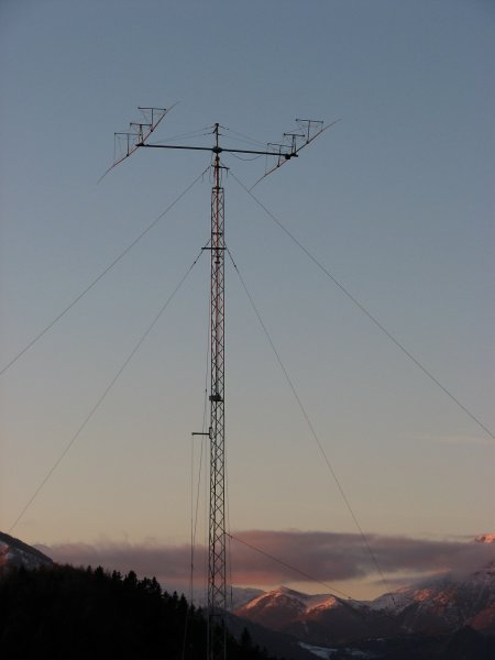 2 el. 7MHz Yagi at 40m tower