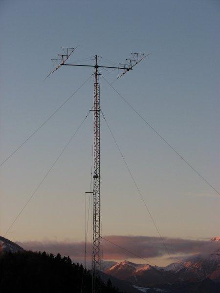 2 el. 7MHz Yagi at 40m tower