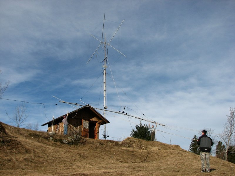 7 el. 28 MHz OWA Yagi 14m long boom