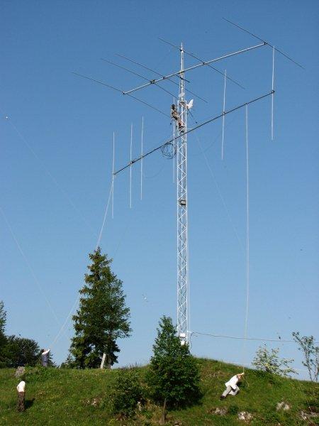 6 el. 21 MHz OWA YAGI on 15m long boom