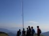 Radio amaterski (ham) kamp Črni vrh nad Cerknim - SOTA Summits on the Air