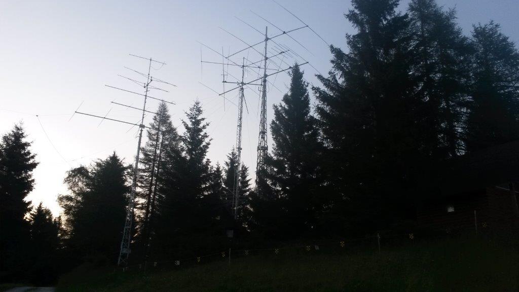 S50HQ IARU HF Championship 2015 Črni Vrh S50E station