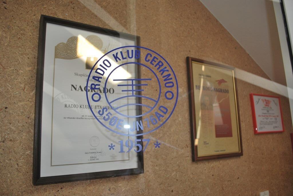 Radio klub Cerkno - nov klubski prostor