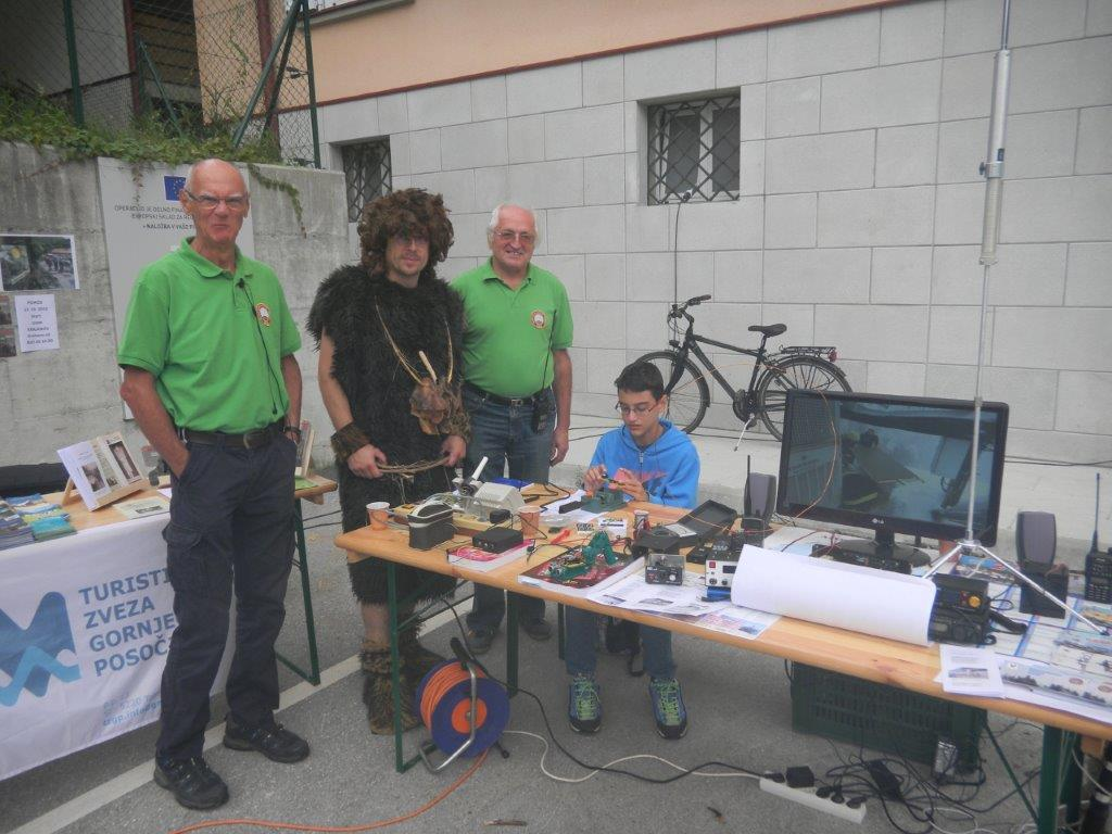 Radio klub Cerkno na festivalu nevladnih organizacij Goriške statistične regije