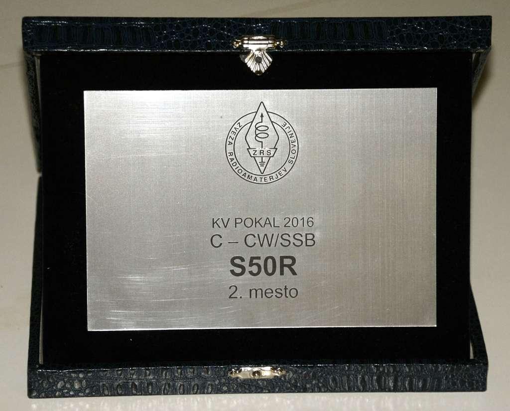Leo Xhoko, S50R KV POKAL 2016 2. mesto kategorija C