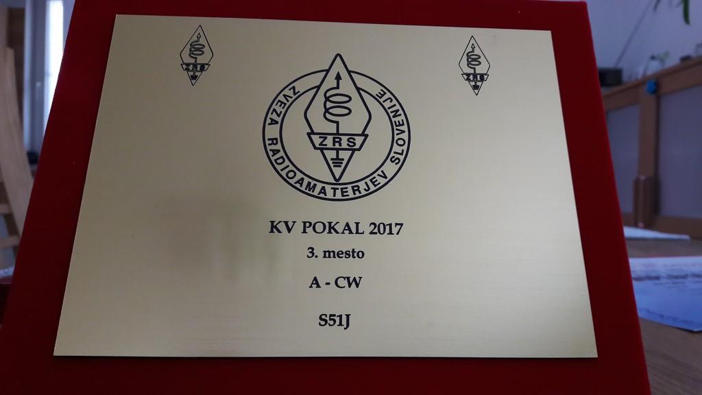 Janez Majdič, S51J KV POKAL 2017 3. mesto kategorija A - CW