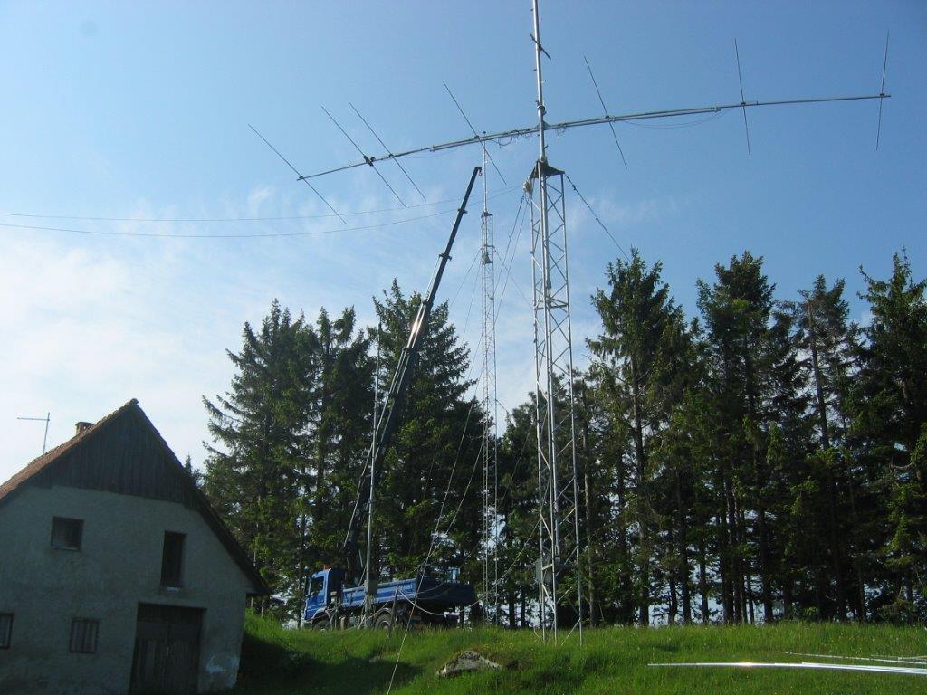 Obnovitev antenskega sistema na tekmovalni postojanki VOJSKO - S58D