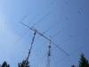 Swallow birds (Hirundo rustica) on top of our antenna!