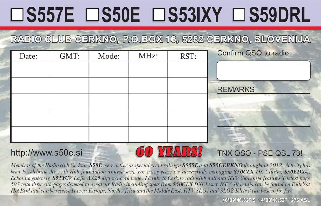 S557E QSL CARD BACK